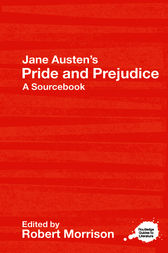 Jane Austen's Pride and Prejudice by Robert Morrison