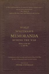 Memoranda During the War by Walt Whitman