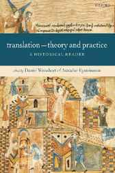Translation - Theory and Practice by Daniel Weissbort