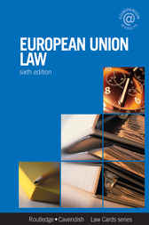 European Union Lawcards 6/e by Routledge