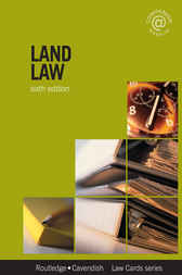 Land Law Lawcards 6/e