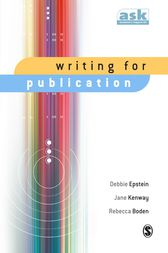 Writing for Publication