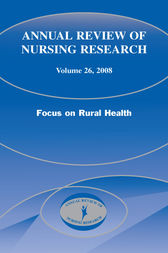 Annual Review of Nursing Research, Volume 26, 2008 by Joyce J. Fitzpatrick