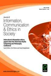 Intercultural Information Ethics by Ken Himma