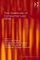 The Yearbook of Consumer Law 2009 by Christian Twigg-Flesner