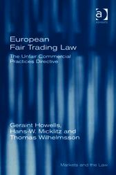 European Fair Trading Law by Hans W Micklitz