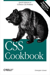 CSS Cookbook by Christopher Schmitt
