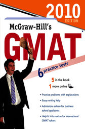 McGraw-Hill's GMAT, 2010 Edition by James Hasik