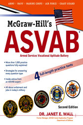 McGraw-Hill's ASVAB, Second Edition by Dr. Janet Wall
