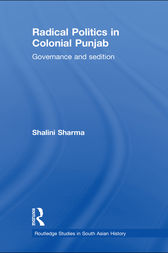 Radical Politics in Colonial Punjab by Shalini Sharma