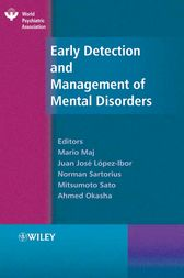 Early Detection and Management of Mental Disorders by Mario Maj