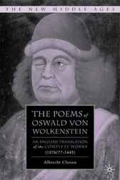 The Poems of Oswald von Wolkenstein