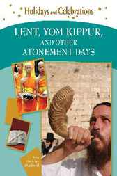 Lent, Yom Kippur, and Other Atonement Days by Amy Hackney Blackwell