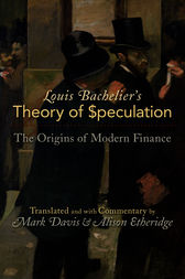 Louis Bachelier's Theory of Speculation by Louis Bachelier
