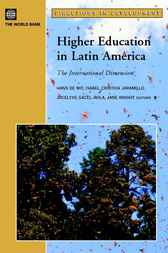 Higher Education in Latin America by Hans de Wit