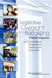 Legislative Oversight and Budgeting