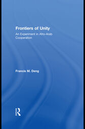 Frontiers Of Unity by Francis Deng
