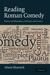 Reading Roman Comedy by Alison Sharrock