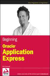 Beginning Oracle Application Express by Rick Greenwald