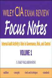 Wiley CIA Exam Review Focus Notes by S. Rao Vallabhaneni