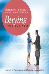 Buying for Business by Christopher Barrat