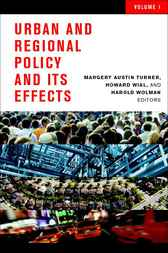 Urban and Regional Policy and Its Effects, 1