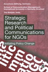 Strategic Research and Political Communications for NGOs by Accenture-Stiftung; School of Communication Management; The Banyan