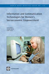 Information and Communication Technologies for Women's Socio-Economic Empowerment