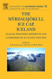 The Myrdalsjokull Ice Cap, Iceland by Anders Schomacker