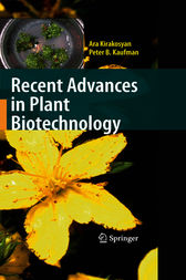 Recent Advances in Plant Biotechnology by Ara Kirakosyan