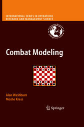 Combat Modeling by Alan R. Washburn