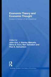 Economic Theory and Economic Thought by John Vint