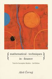 Mathematical Techniques in Finance by Ales Cerný