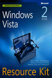 Windows Vista® Resource Kit by Jerry Honeycutt