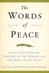 The Words of Peace by Irwin Abrams