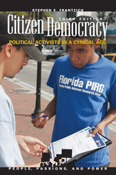 Citizen Democracy by Stephen E. Frantzich