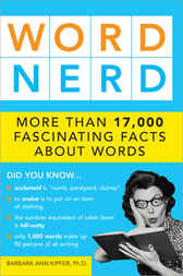Word Nerd by Barbara Kipfer