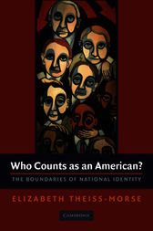 Who Counts as an American? by Elizabeth Theiss-Morse