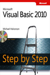 Microsoft® Visual Basic® 2010 Step by Step by Michael Halvorson