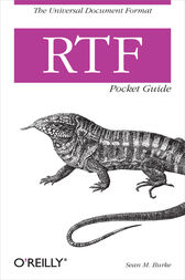 RTF Pocket Guide by Sean M. Burke