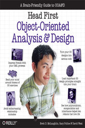 Head First Object-Oriented Analysis and Design by Brett McLaughlin