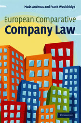 European Comparative Company Law by Mads Andenas