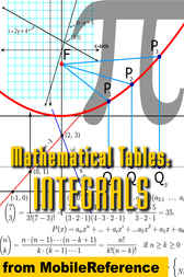 Mathematical Tables: Table of Integrals (Antiderivative Functions) by MobileReference