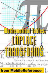 Mathematical Tables: Laplace Transforms by MobileReference