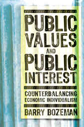 Public Values and Public Interest by Barry Bozeman