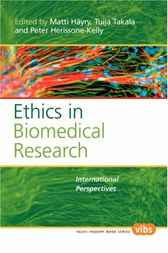 Ethics in Biomedical Research by Matti Hayry