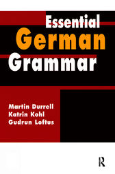 Essential German Grammar by Martin Durrell