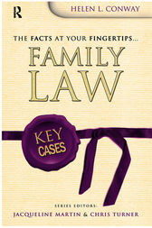 Key Cases: Family Law by Helen Conway