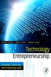 Technology Entrepreneurship by Thomas N. Duening