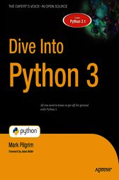 Dive Into Python 3 by Mark Pilgrim